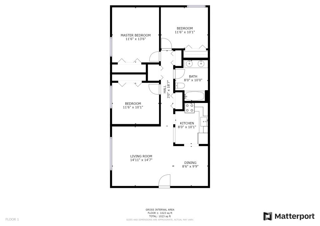 Botsford 3-Bedroom Layout